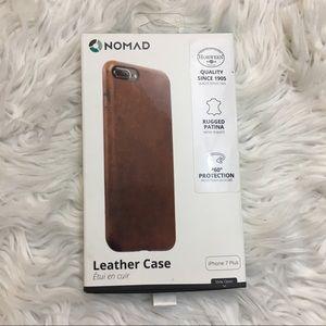 Nomad leather iPhone 7 plus case